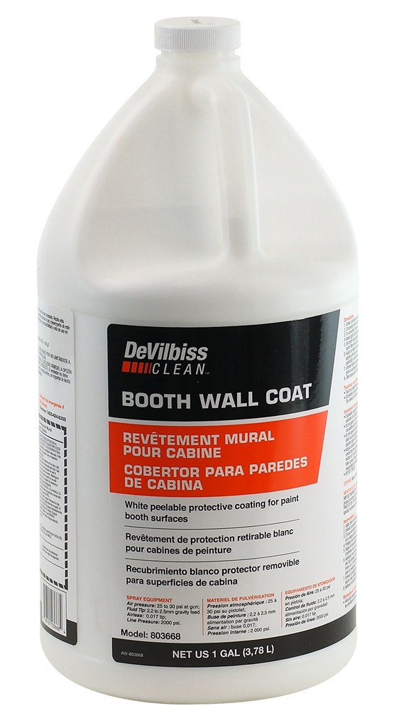 803668 Booth Wall Coat (1 Gallon)