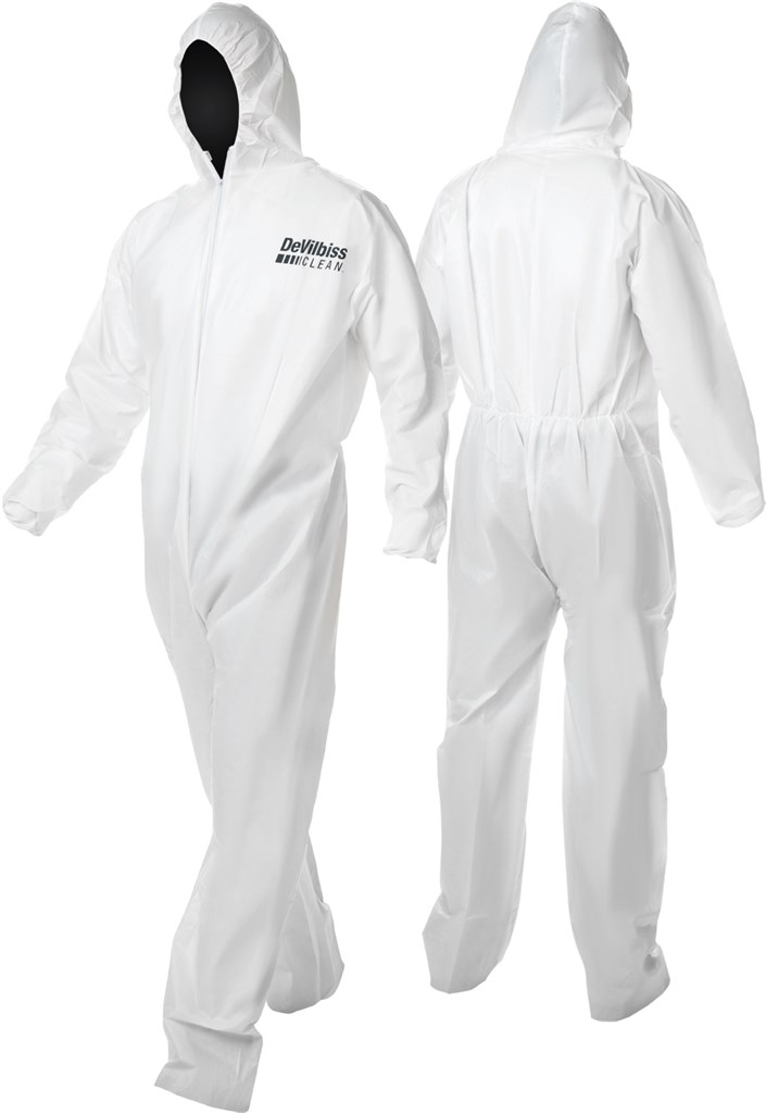 DeVilbiss CLEAN Disposable Coveralls