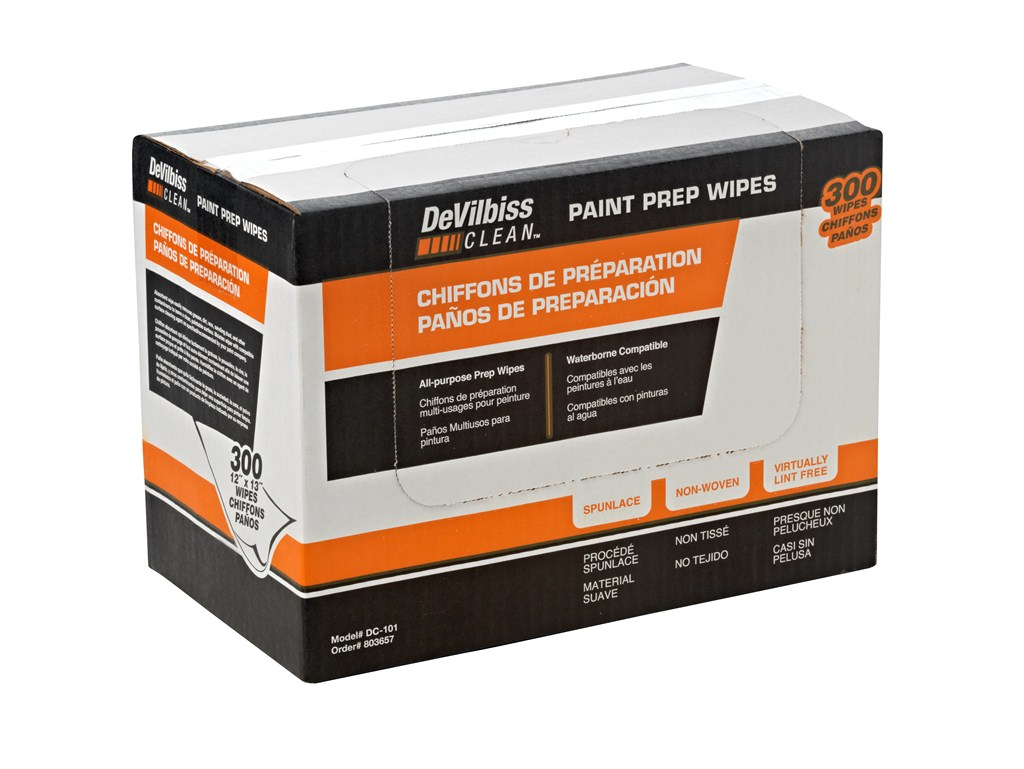 DC-101 Paint Prep Wipes
