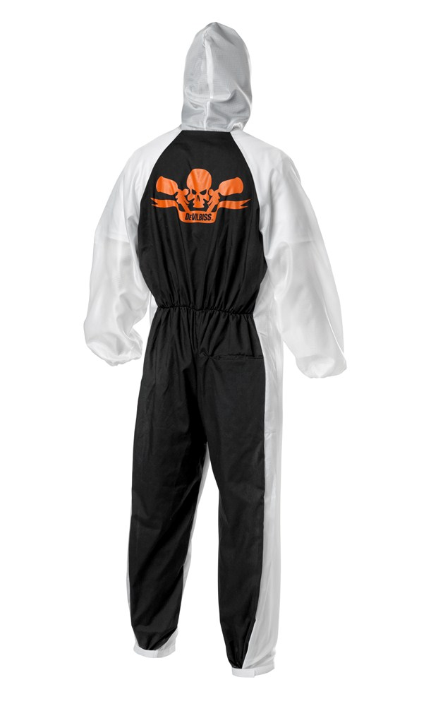 DeVilbiss CLEAN Reusable Coveralls (Back)