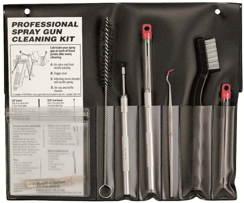Professional Spray Gun Cleaning Kit