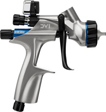 DeVilbiss Automotive Refinishing | DV1 Basecoat Spray Gun