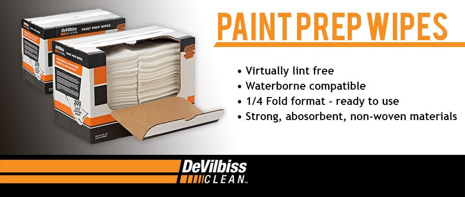 Paint Prep Wipes, Ready to Use
