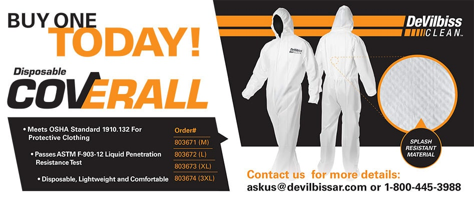 Disposable Coveralls offer Performance And Versatility