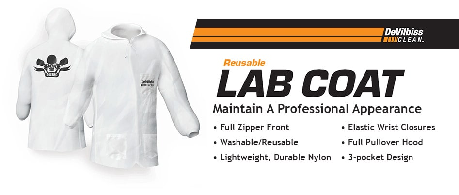 DeVilbiss® CLEAN™ Lab Coat