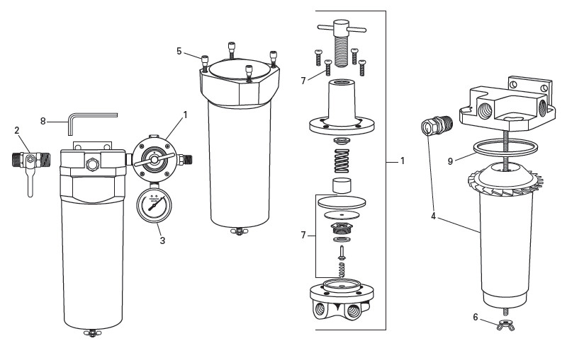 Qc3 Filter Amp Dryer Unit